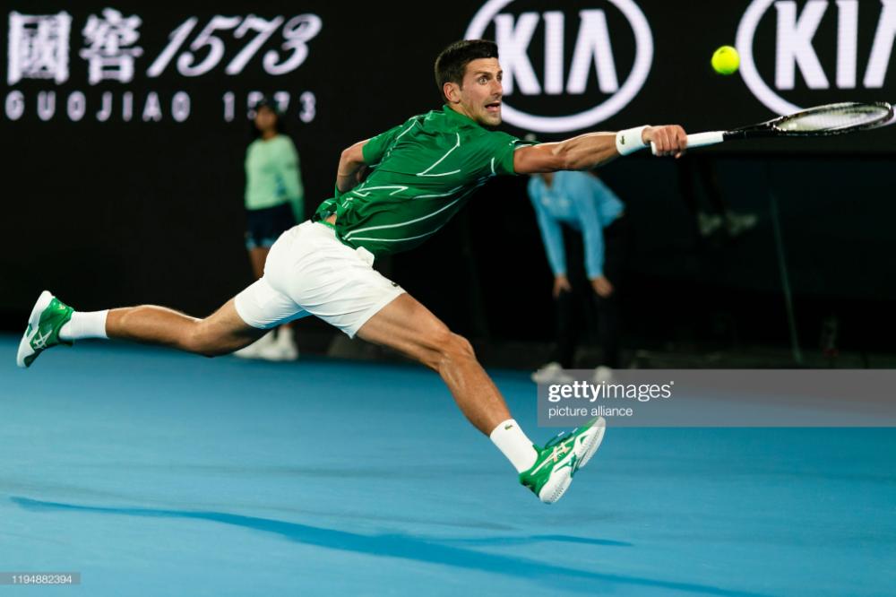 Grand Slam Australian Open Men Singles 1st Round Djokovic In 2020 Australian Open Novak Djokovic Tennis Life