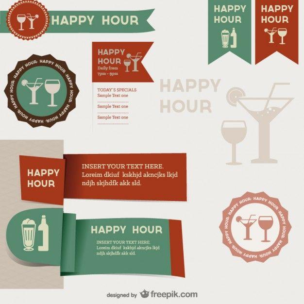 Menu Restaurant Label Templates Material Free Vector | Free ...