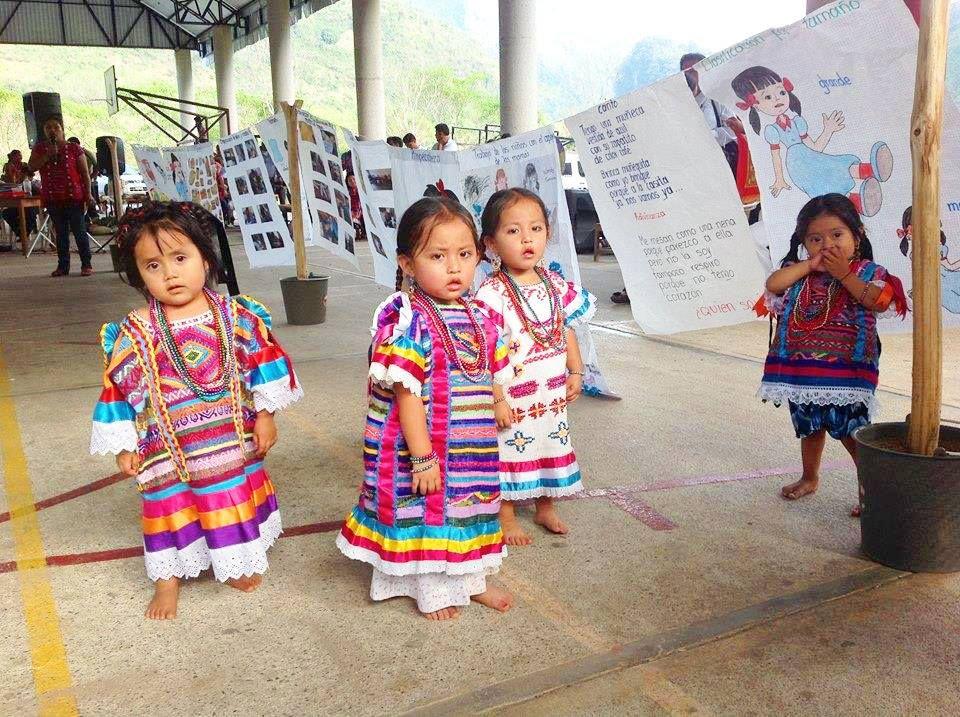 pequeñas bellezas Chinantecas, o sea del Estado de Oaxaca