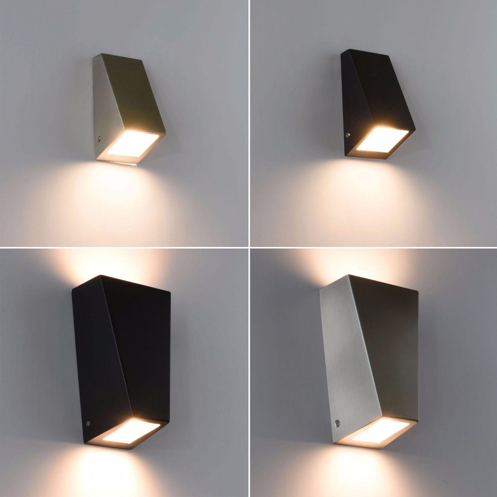 Aussenleuchte Edelstahl Aussenlampe Wandleuchte Wandlampe Up Down Leuchte 560 Ebay Aussenlampe Wandlampe Aussenleuchten