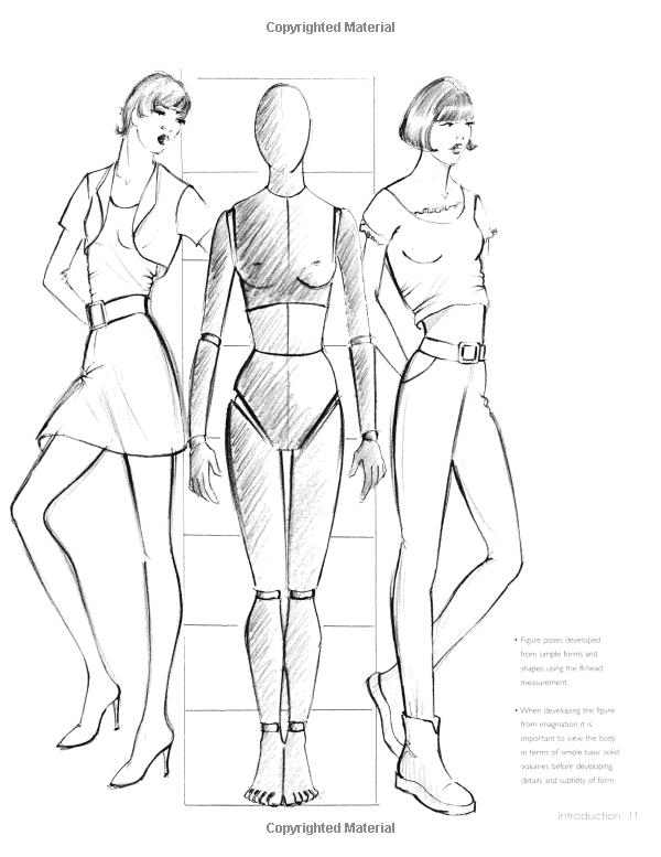 New Fashion Figure Templates - m 90