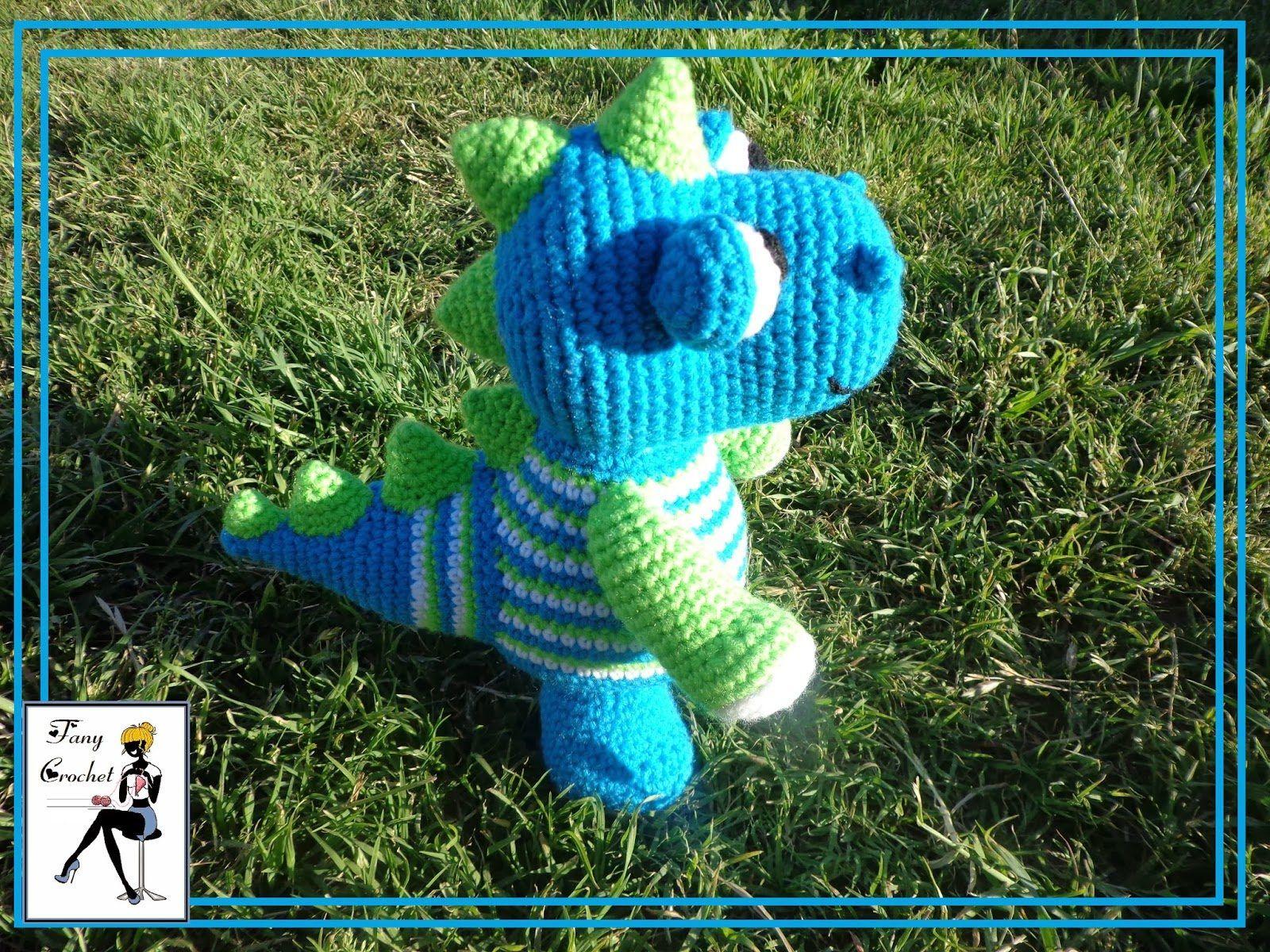Patrón gratis amigurumi de Dinosaurio – amigurumis y más   muñecas ...