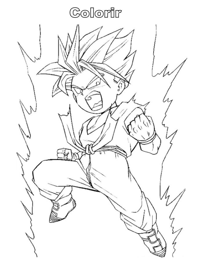 Kid Trunks SSJ2