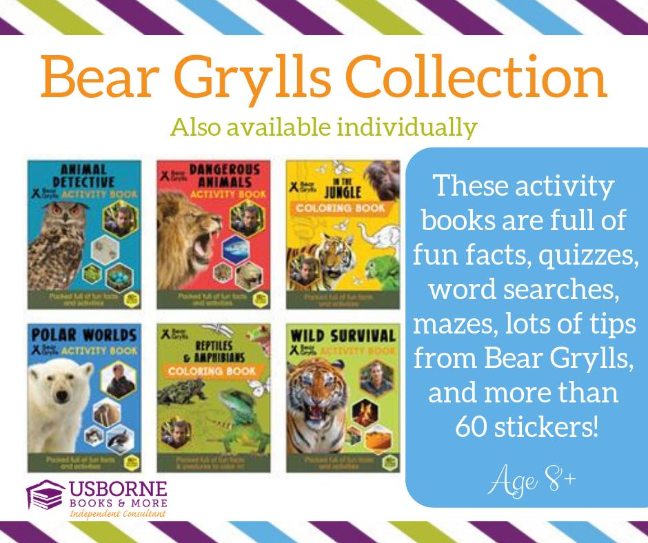 Bear Grylls Collection Usborne Books Usborne Usborne Books Party