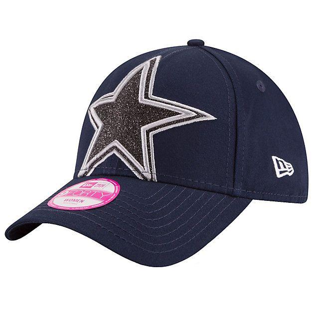 Dallas Cowboys New Era Glitter Glam 2 9Forty Cap  5139da656