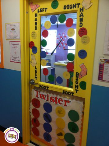 What A Fun Way To Decorate The Center Each Classroom Is A