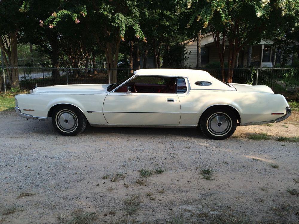 1972 Lincoln Mark Series