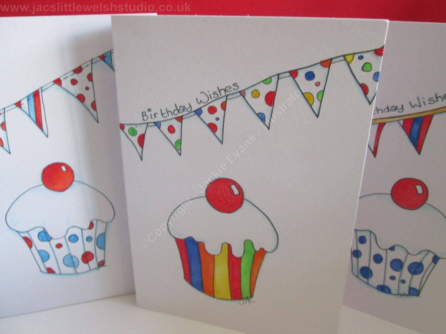 Cherry On Top Hand Drawn Original Birthday Card This Can Be