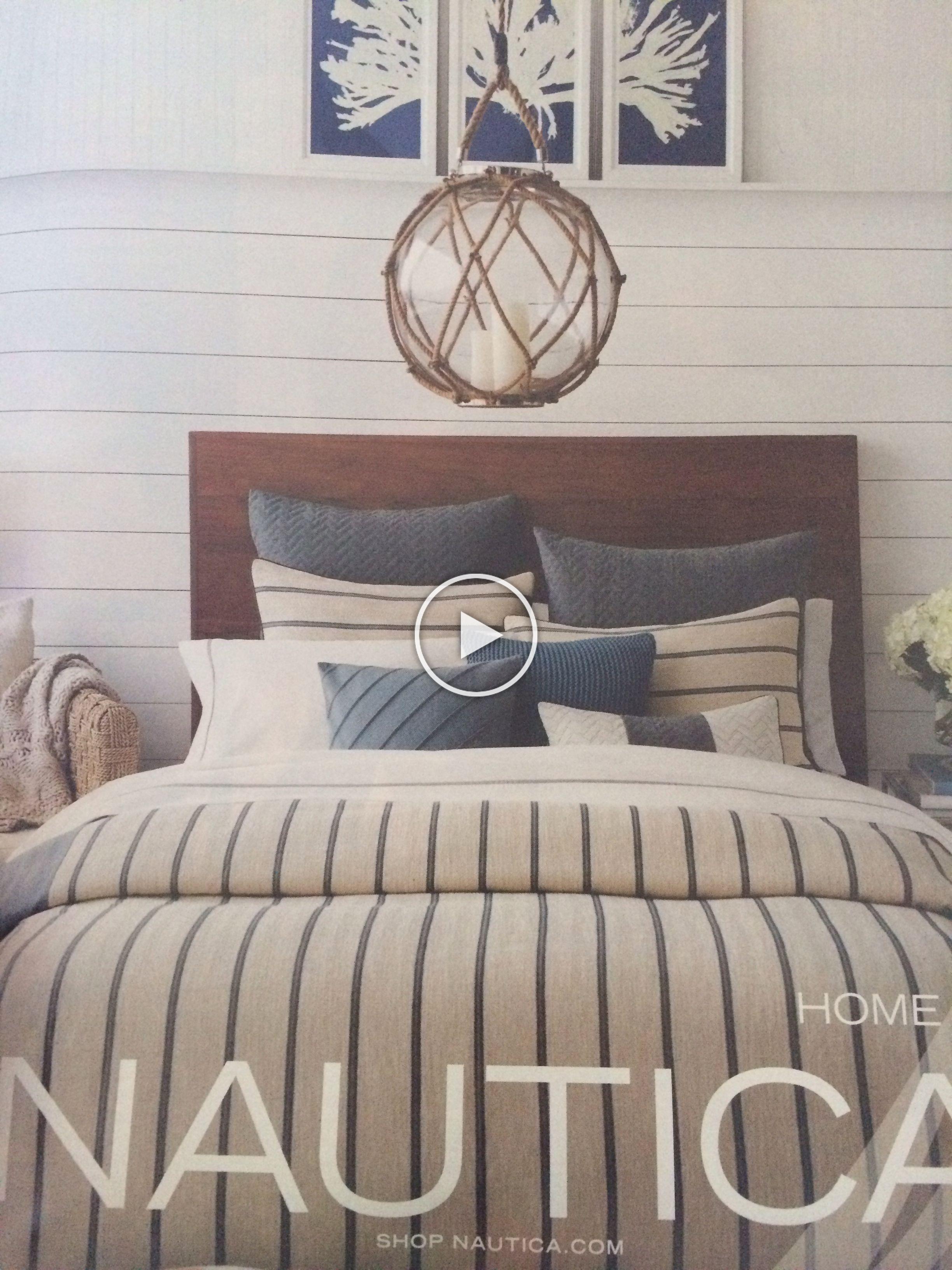 Nautical bedroom bedding lighting in 2020 Nautical