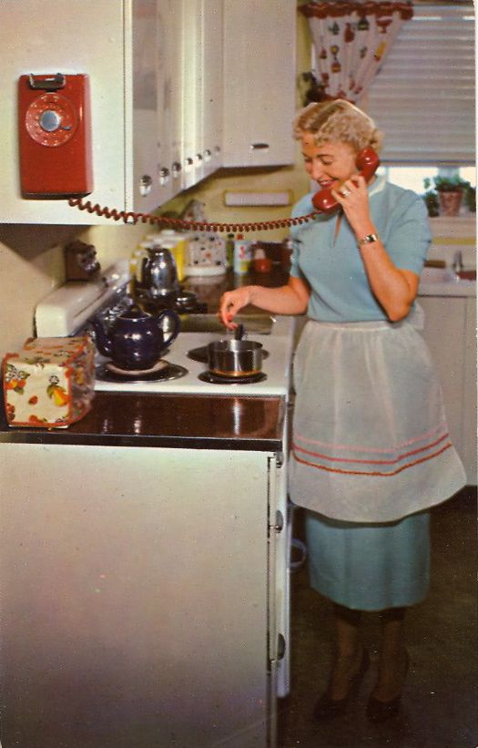 Kitchen Phone Corner Base Cabinet Busy Homemaker A At Her Fingertips No More Frantic Dashes Missed Calls Burned Meals Brightens The Too