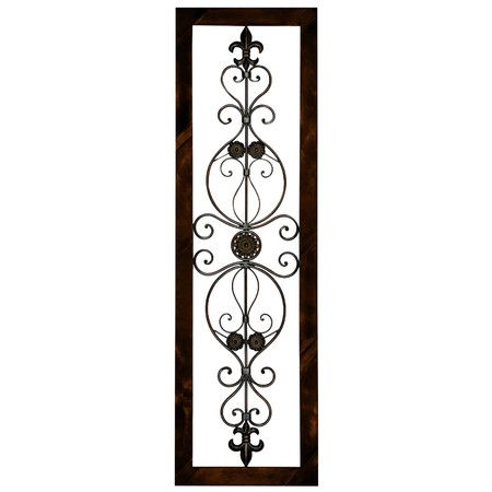 Wayfair Wall Decor found it at wayfair - metro vertical metal wall art in brown