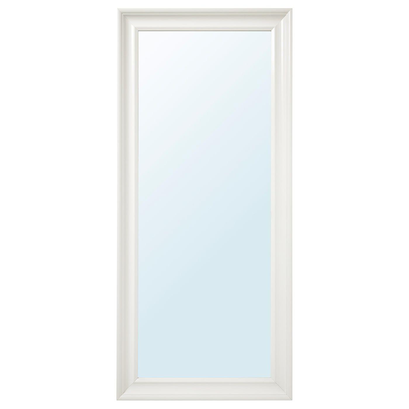 Ambienti Ikea Cucina hemnes specchio - bianco 74x165 cm | specchi a figura intera