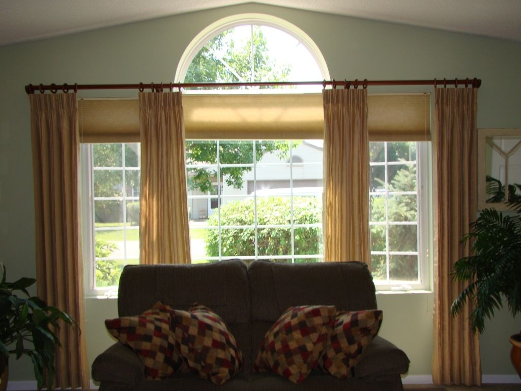 Window coverings arched windows  arched window treatment ideas are the kind of ideas that you are