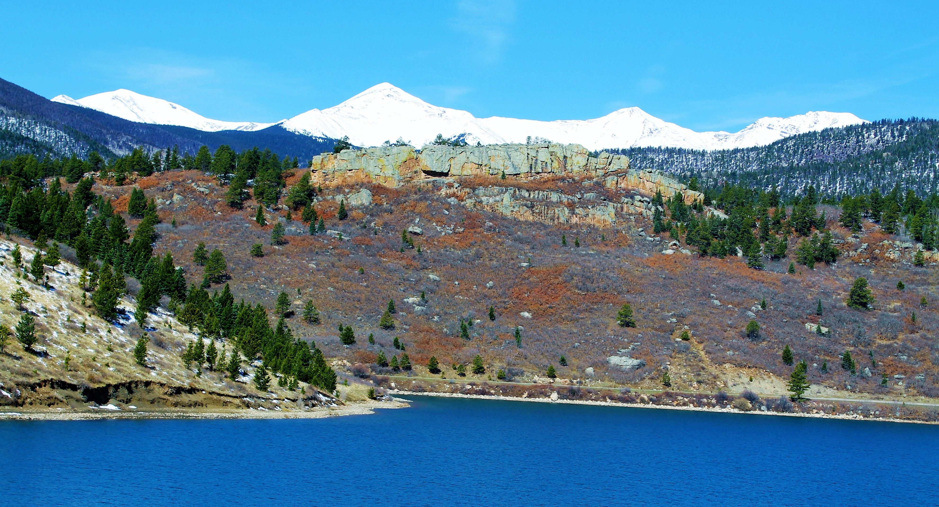 Lake trinidad near the spanish peaks colorado must see