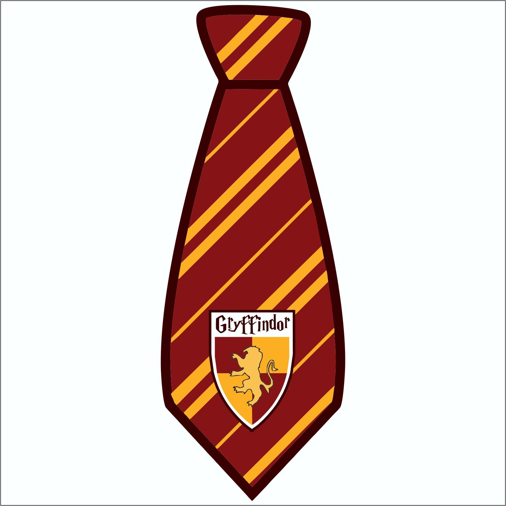 It's just a photo of Canny Harry Potter Tie Printable