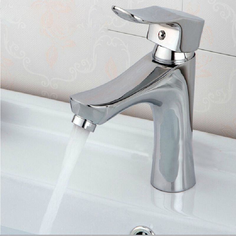 Merveilleux Free Shipping Cheap Chrome Bathroom Faucet With Luxury Basin Sink Faucet  From China DONA Sanitary Ware