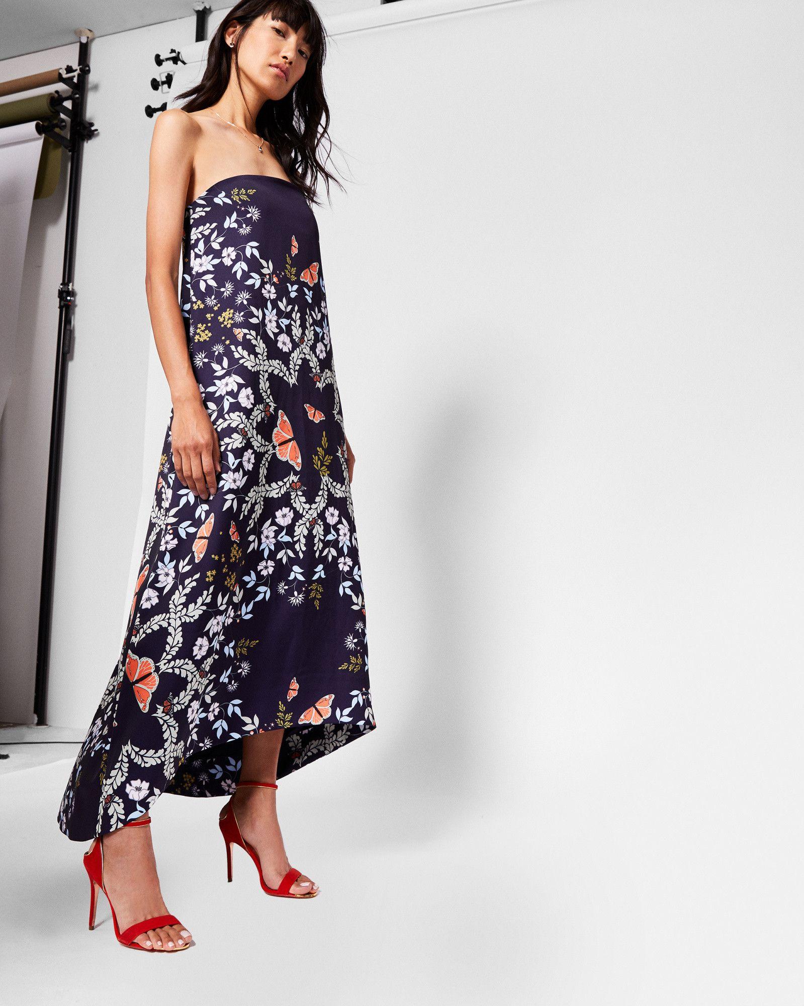 Dresses | Designer Dresses For Day & Evening | Ted Baker. Strapless Maxi ...