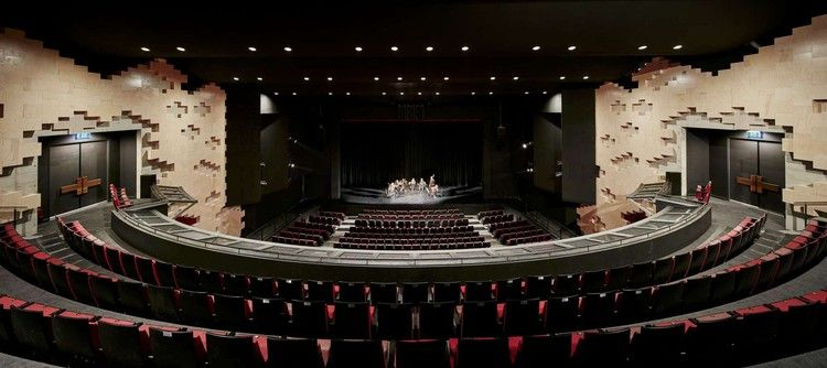 How To Design Theater Seating Shown Through 21 Detailed Example Layouts Auditorium Design Architecture Theatre Architecture