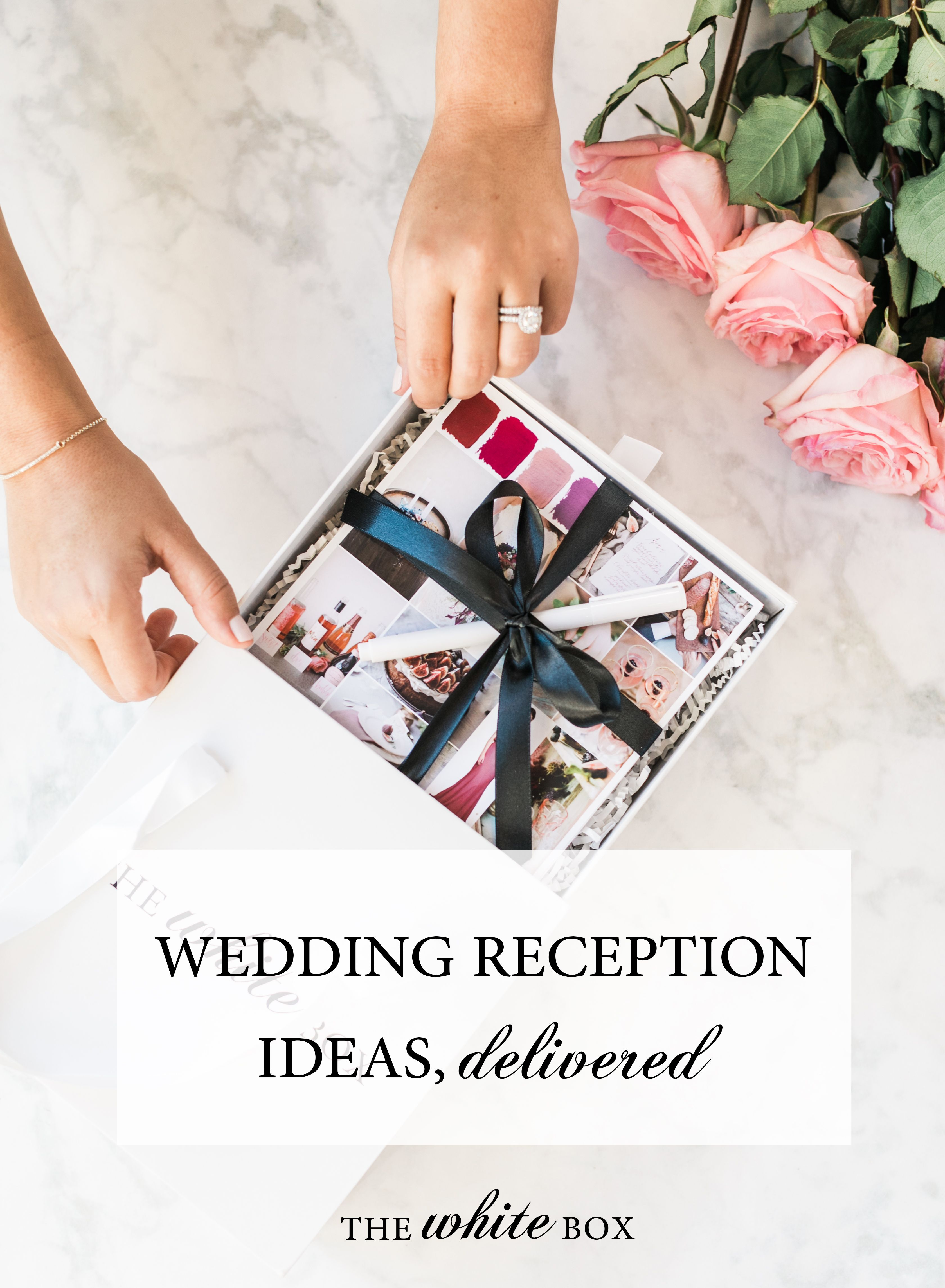 Wedding reception ideas in a box delivered right to your doorstep ...