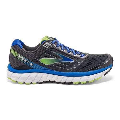 53e5e0eada81b Brooks Men s 9 Ghost Running Shoes (Alloy High Risk Red Black