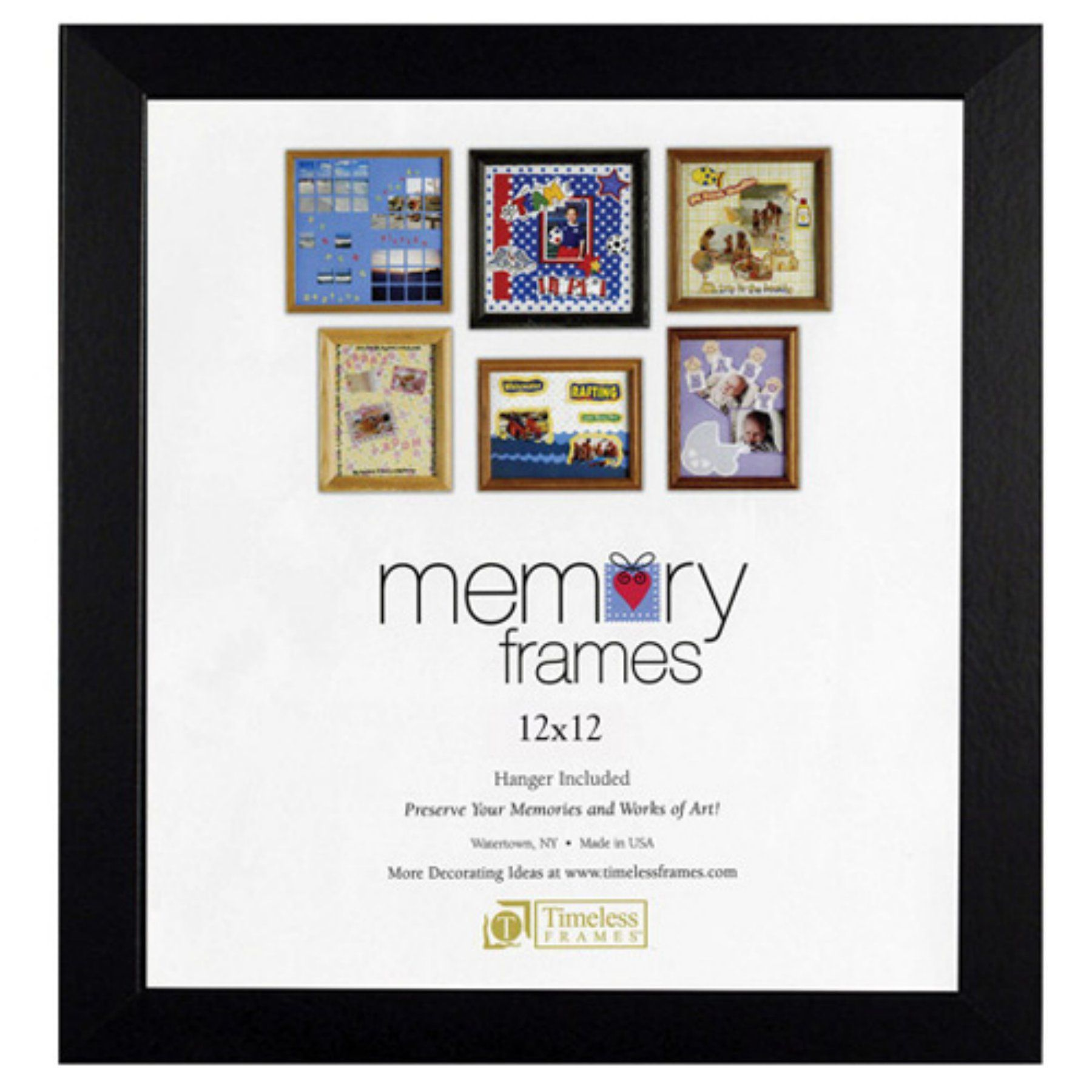 Timeless Frames Anna Memory 12 X 12 In Photo Frame Set Of 2