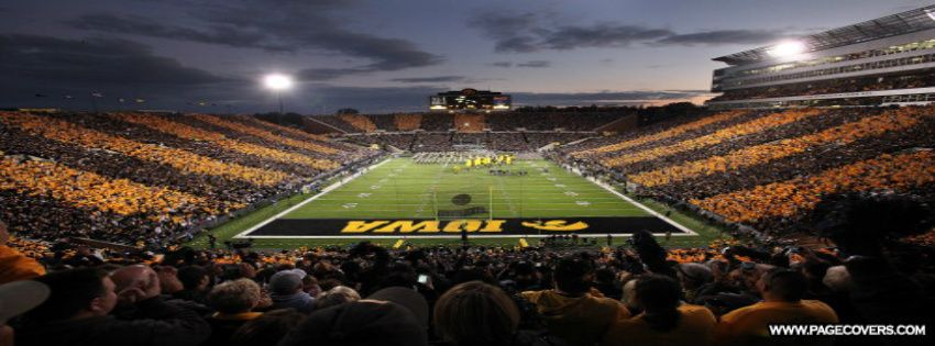 The University Of Iowa Hawkeyes Facebook Cover