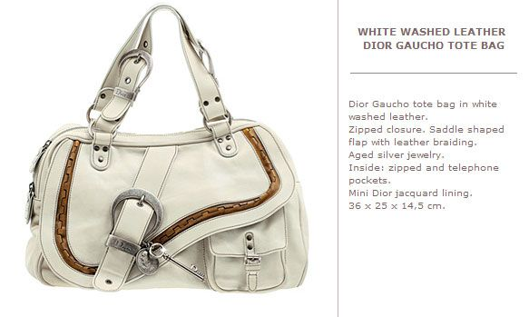 cbf0ea7cc Christian Dior Gaucho bag, white | The Bags I Love | Dior, Bags e ...