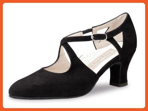 598cefe6121c7 Werner Kern Womens Gala 6.0 Black Suede (Comfort Line) - American ...