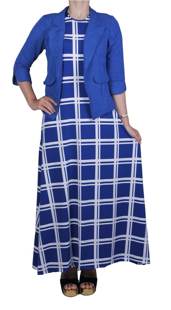 NEW Dress Stripped on Aimeera dengan bahan twist korea lembut  CSO SILFI  SMS/WHATSAPP 081323565991 BBM 294E3A31