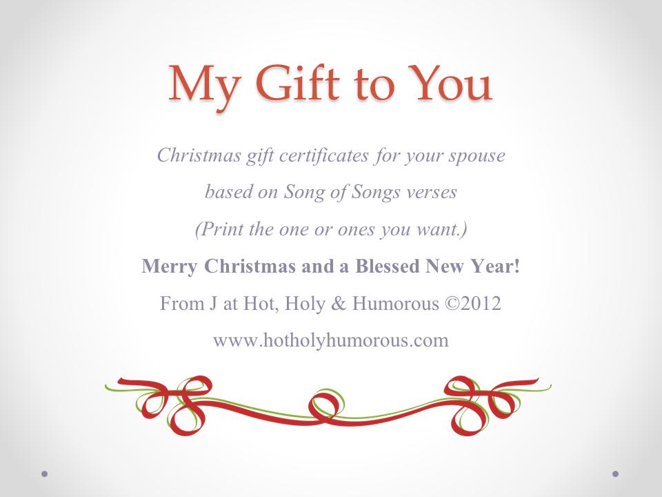 Gift Certificate Printable For Christmas Stockings -2990