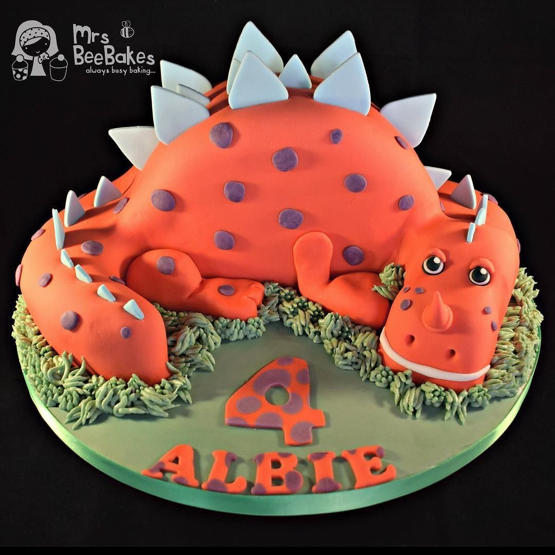 I Love This Cake Albies Little Dinosaurcake Was A Huge Hit And I