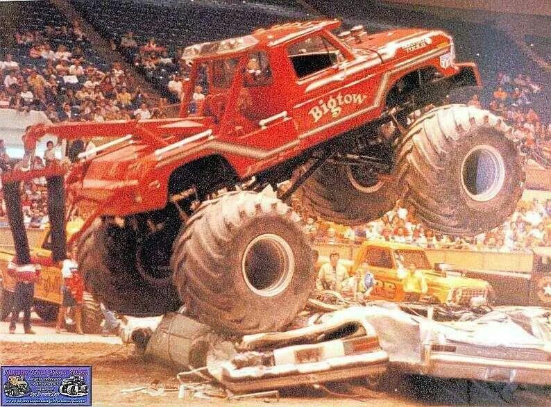 Big Red Monster Truck Crushing Cars Monster Trucks Big Monster