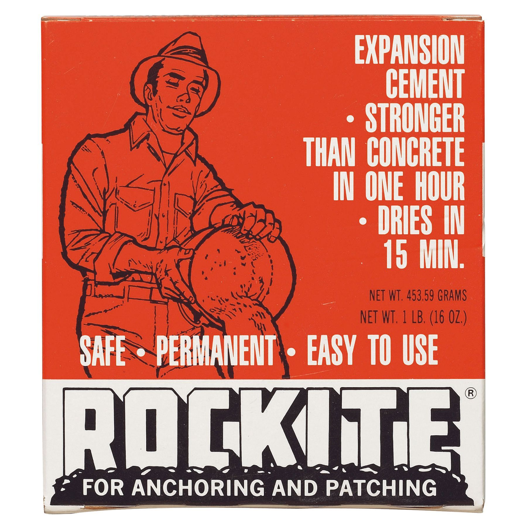 Rockite 1 Lb Rockite FastSetting Cement (Patching