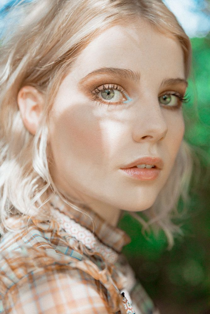 Lucy Boynton's Beauty Routine
