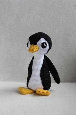 Thuis Is Waar We Haken Patroon Testen Pilou De Pinguin Kindjes