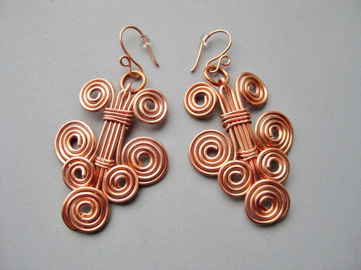 wire jewelry design ideas Solid Copper Wire Bold Tribal Celtic