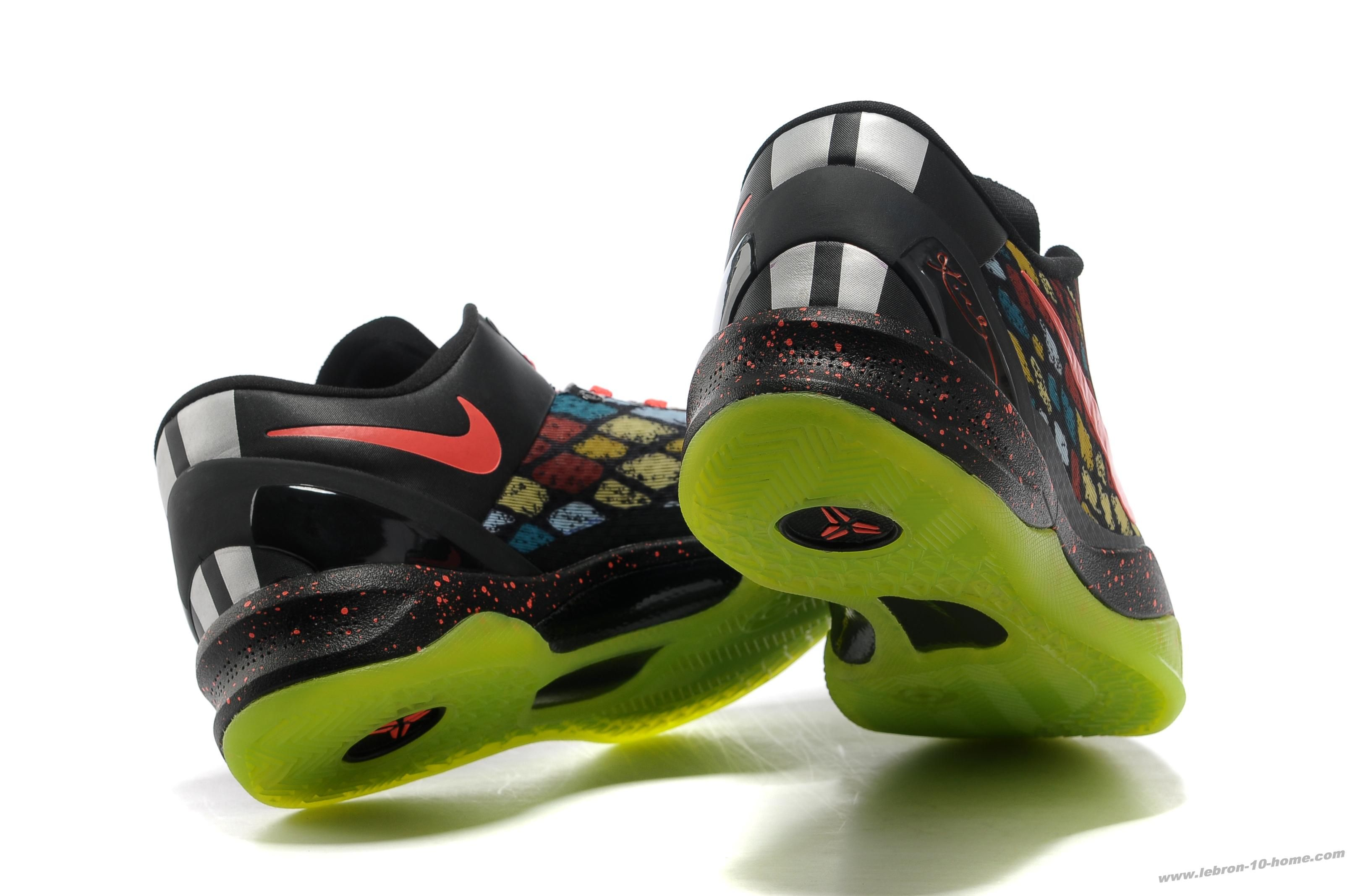 273101496167 Nike Kobe 8 System CHRISTMAS year of the snake scales 555286 060 ...