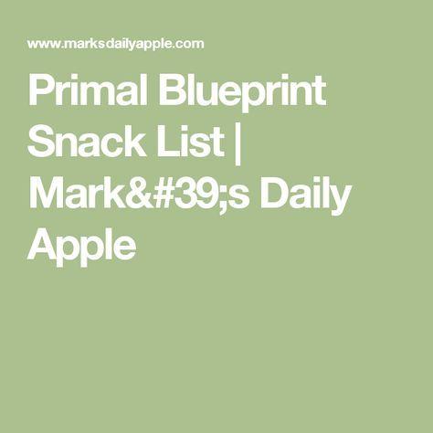 Primal blueprint snack list snacks list and snacks primal blueprint snack list malvernweather Choice Image