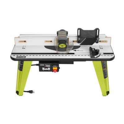 Ryobi 32 in x 16 in intermediate router table router table intermediate router table greentooth Choice Image