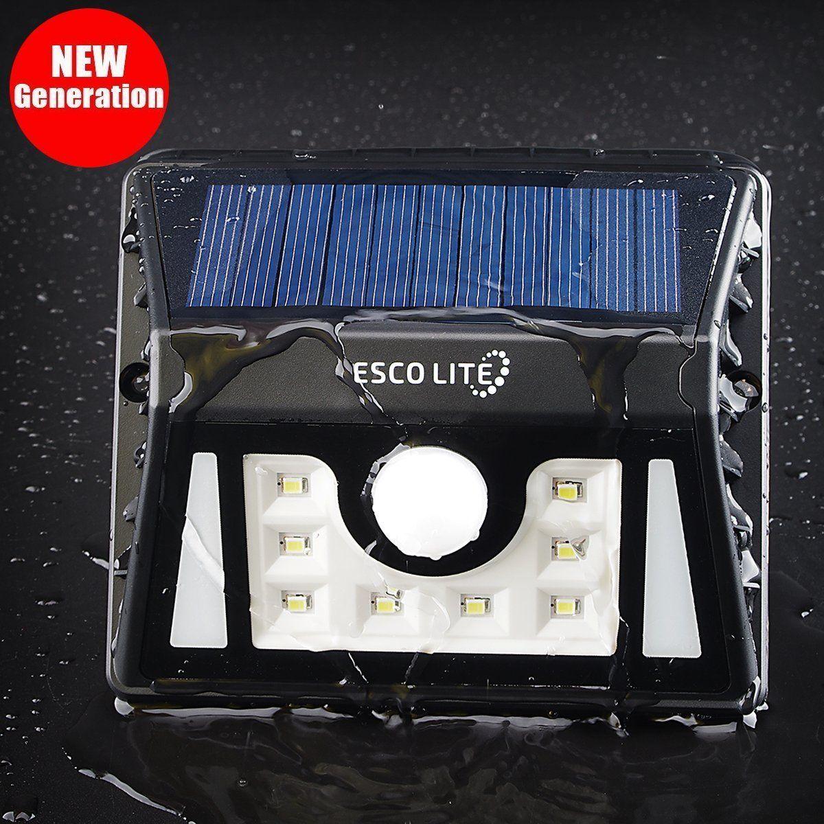Escolite Solar Lights With Motion Sensor For Outdoor