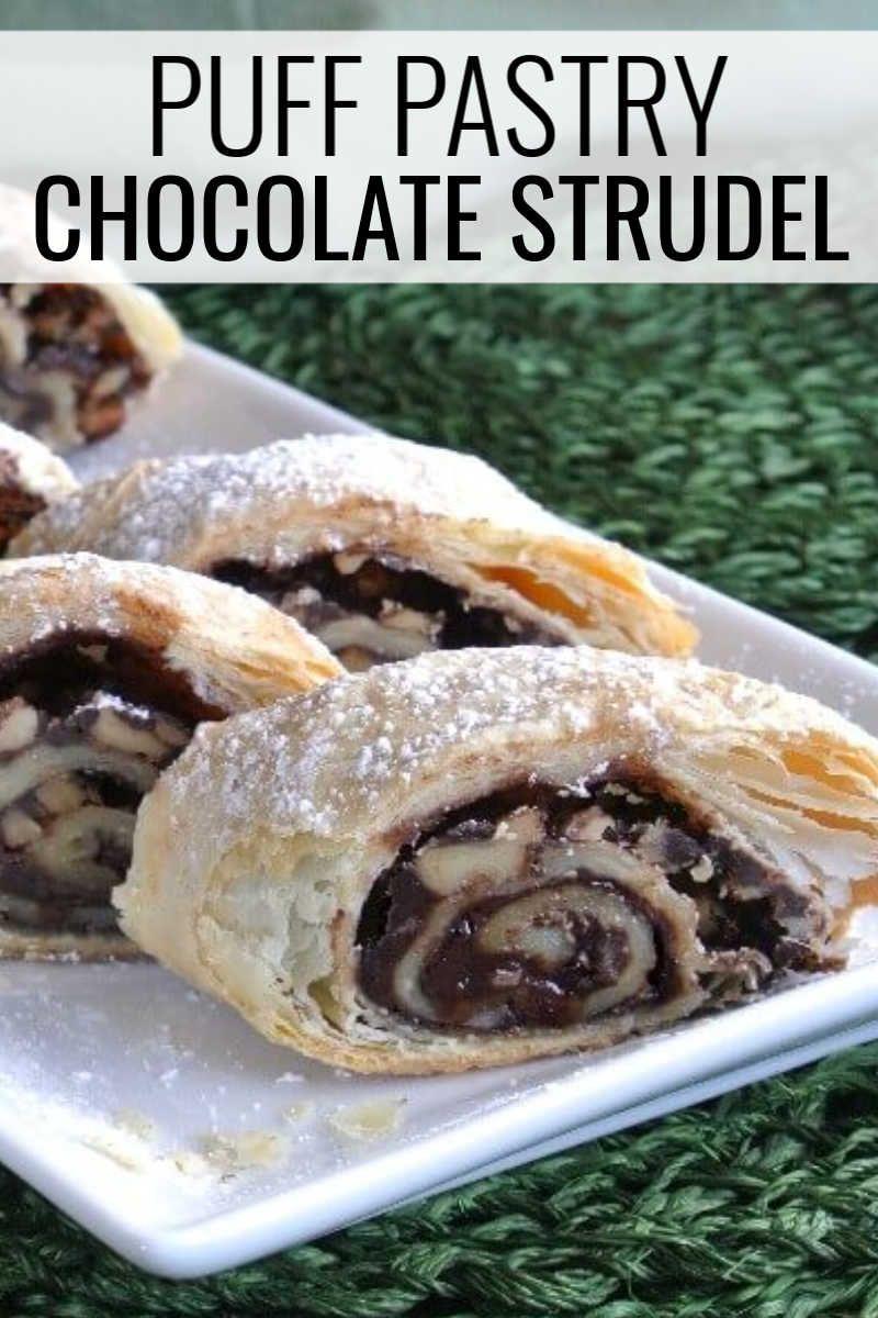 Chocolate strudel recipe strudel recipes low carb