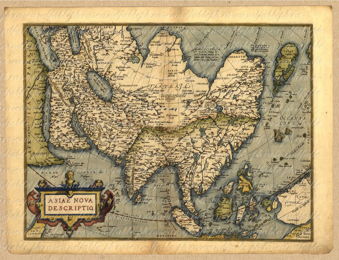 Map of asia from the 1500s japan borneo new guinea china india map of asia from the 1500s japan borneo new guinea china india thailand russia arabia persia 036 ancient old world digital image download gumiabroncs Image collections