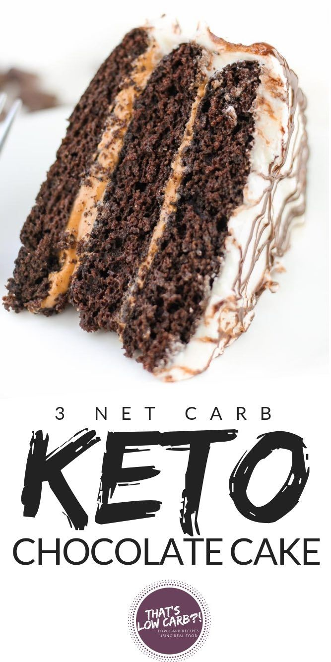 Keto Chocolate Cake Recipe | Low Carb Recipes by That's Low Carb?!