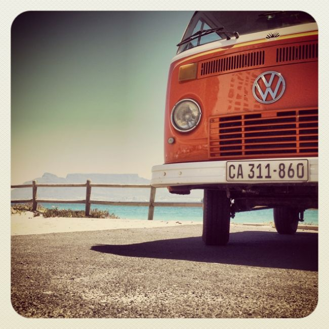 VW Bus - Orange