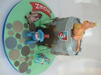 mike the knight cake
