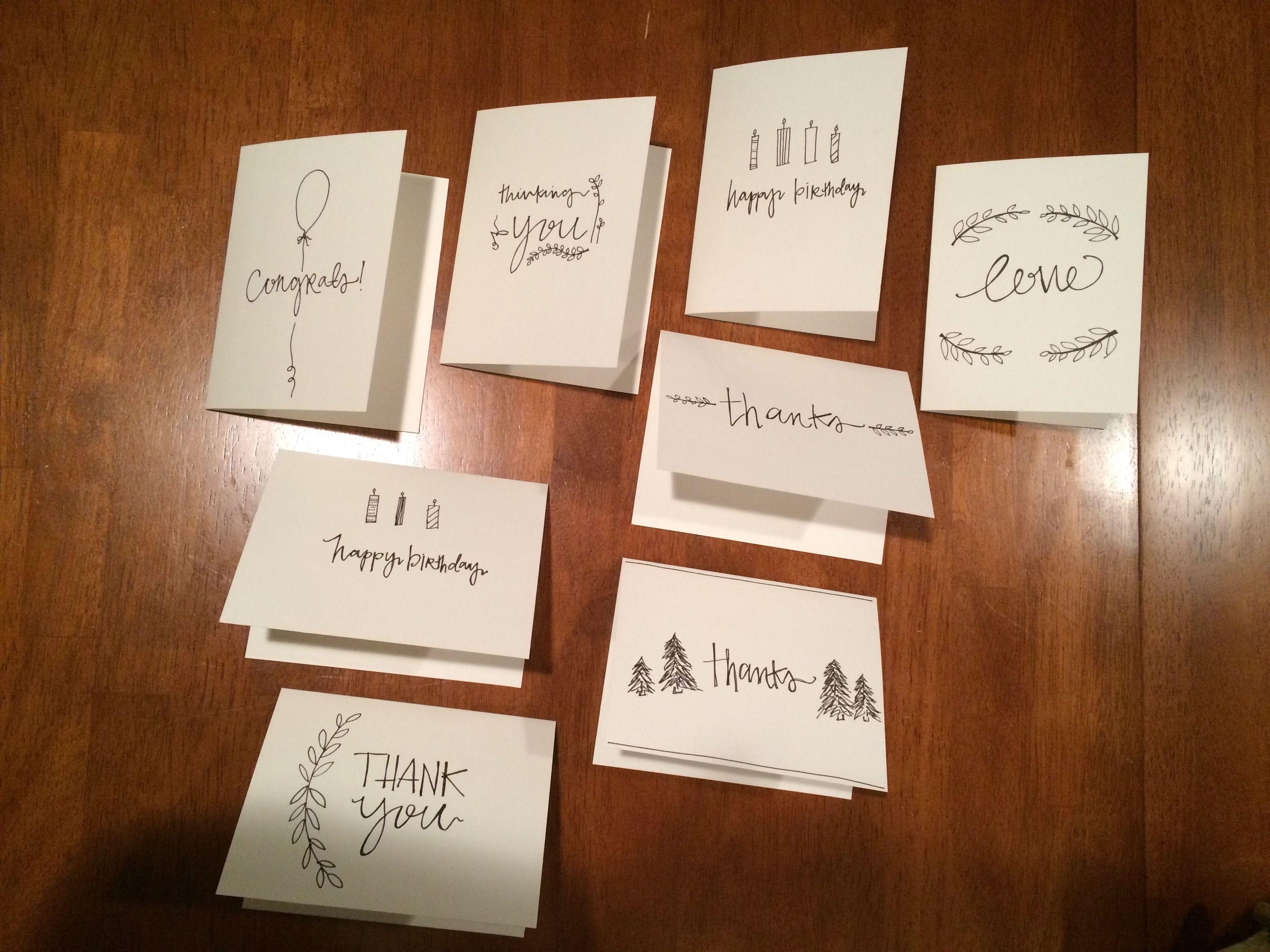 Cards -Doodles by Biz Warner vsco.co/ebizw