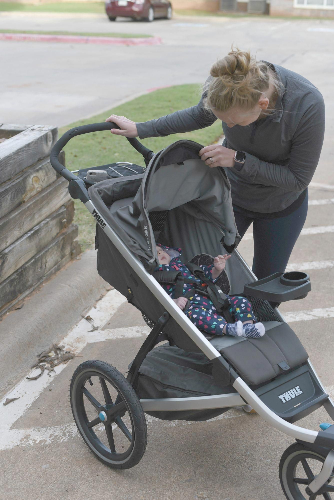 Running With A Jogging stroller Thule Urban Glide