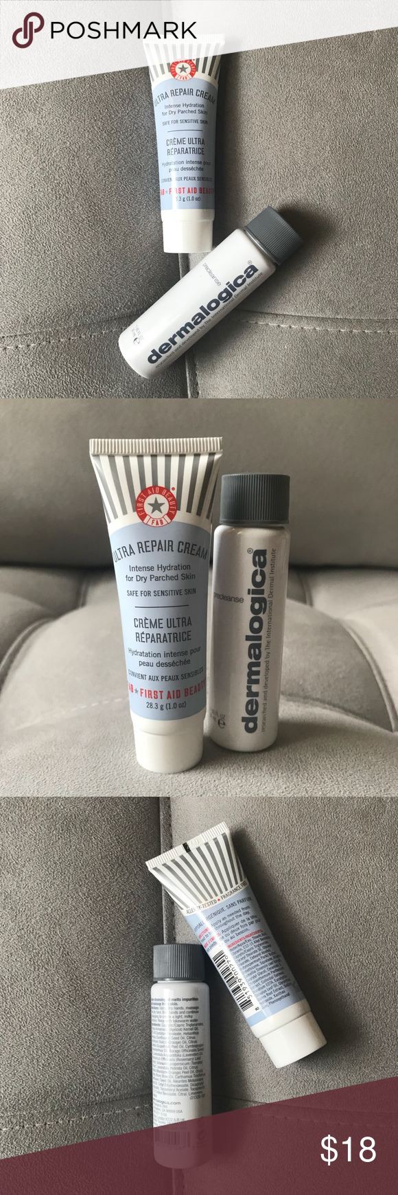 FAB Ultra Repair Cream/Dermalogica Makeup Remover