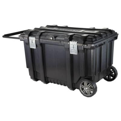 Husky 37 In Rolling Tool Box Utility Cart Black 209261 Utility Cart Rolling Tool Box Family Tent Camping