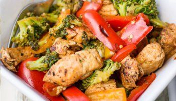 One Pot Low Fat Paleo Mexican Chicken Stir Fry